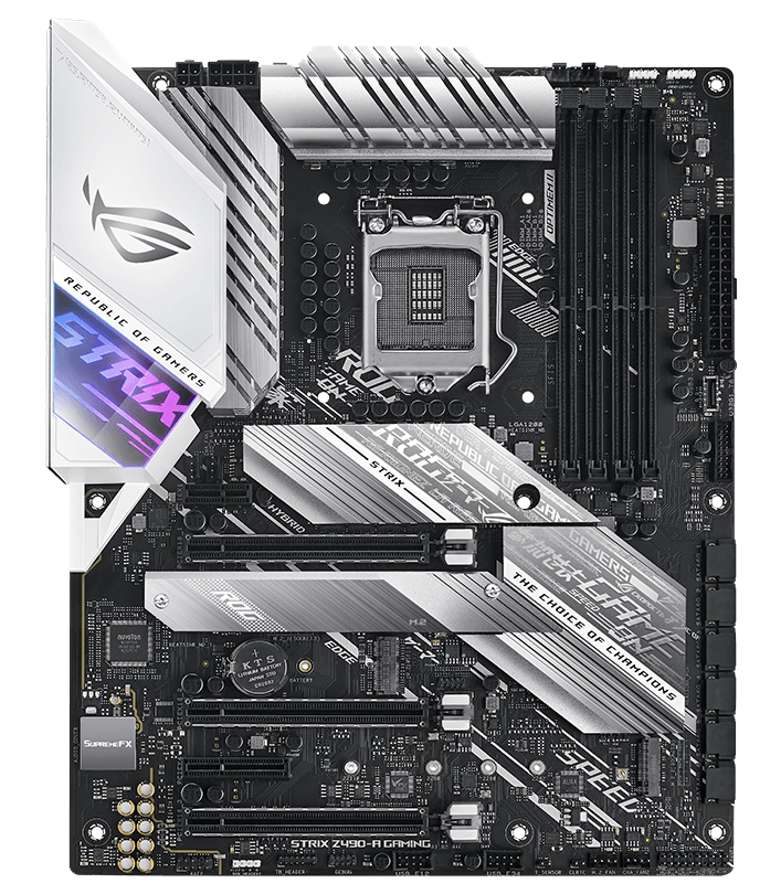 ASUS ROG Strix Z490-A Gaming bundkort
