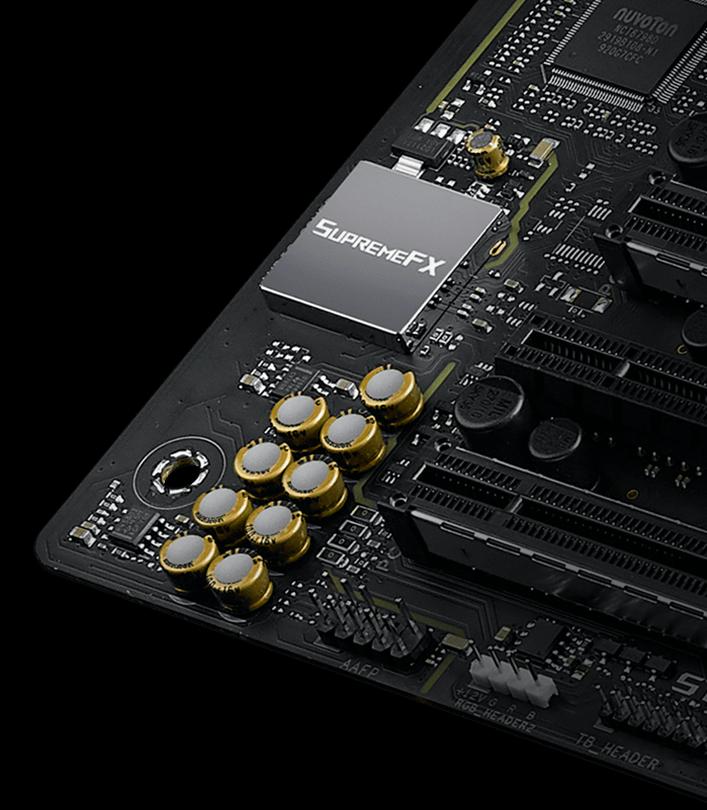 ASUS ROG Strix Z490-A Gaming bundkort med SupremeFX lyd
