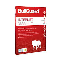 BullGuard Internet Security DK (Antivirus, Firewall, Anti-malware m.v.)