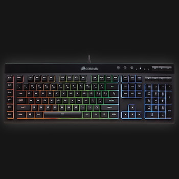 Corsair K55 RGB Gaming Keyboard (Anbefales)