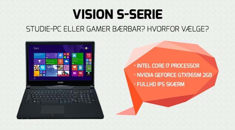 Vision S-Serie - Intel Core-i7 - Nvidia GeForce GTX965m
