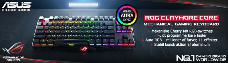 Asus Claymore Core Gaming Tastatur